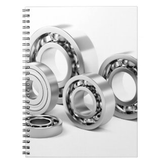 Ball bearings with different sizes notebook