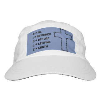 Ball Cap - BIBLE with Cross