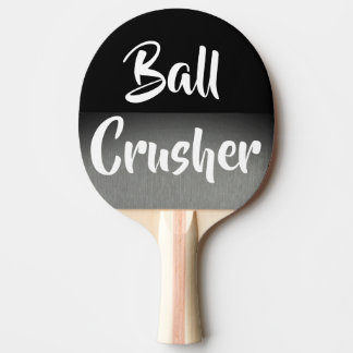 Ball Crusher Pro Ping Pong Player Paddle