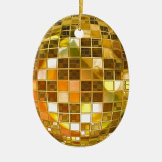 Ball Disco Ball Jump Dance Light Party Disco Ceramic Ornament