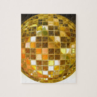 Ball Disco Ball Jump Dance Light Party Disco Jigsaw Puzzle