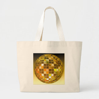 Ball Disco Ball Jump Dance Light Party Disco Large Tote Bag
