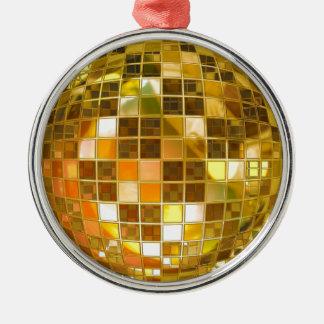 Ball Disco Ball Jump Dance Light Party Disco Metal Ornament
