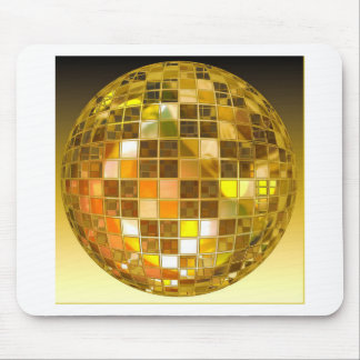 Ball Disco Ball Jump Dance Light Party Disco Mouse Pad