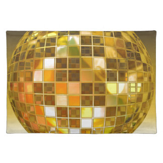 Ball Disco Ball Jump Dance Light Party Disco Placemat