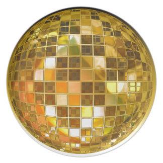 Ball Disco Ball Jump Dance Light Party Disco Plate