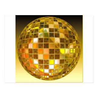 Ball Disco Ball Jump Dance Light Party Disco Postcard