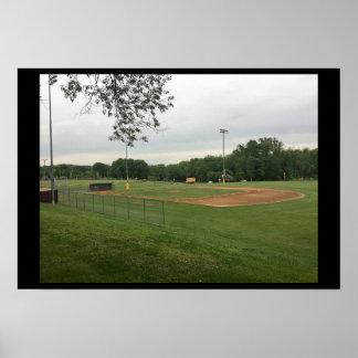 Ball Field Poster