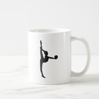 ball gymnastics classic white coffee mug