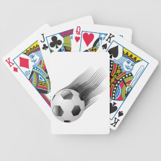 ball icon bicycle playing cards