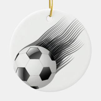 ball icon ceramic ornament