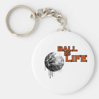 Ball Is Life Keychain