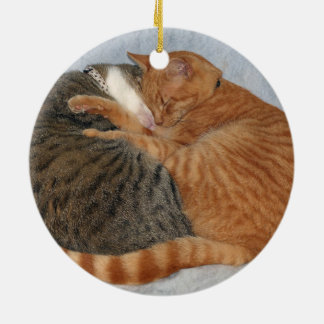 Ball of Cuteness Ceramic Ornament