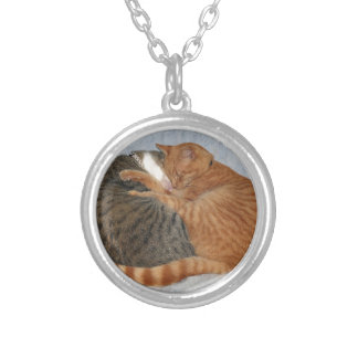 Ball of Cuteness Silver Plated Necklace