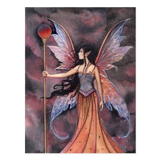 Ball of Fire Fairy Postcard