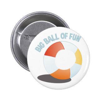 Ball Of Fun 2 Inch Round Button