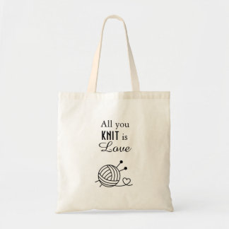 Ball of Knitting Yarn Craft - All You Knit is Love