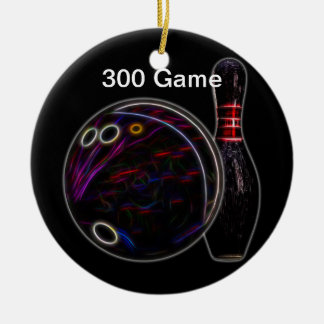 Ball & Pin 300 game ornament