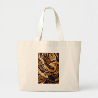Ball Python is a work of Art Large Tote Bag