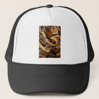 Ball Python is a work of Art Trucker Hat