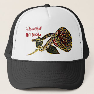 Ball Python Snake Hat Dangerous Beauty