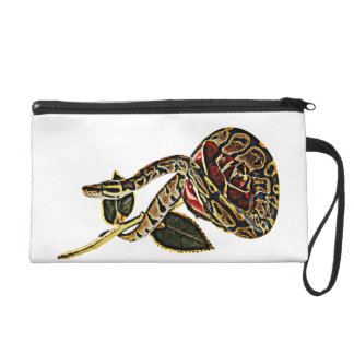 Ball Python Snake Purse Dangerous Beauty