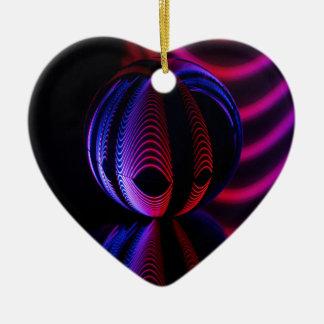 Ball Reflect 6 Ceramic Ornament