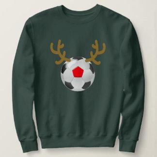ball reindeer soccer T-Shirt Funny Christmas Gift