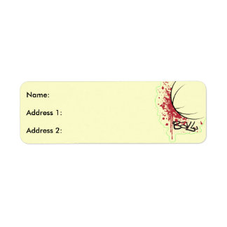 Ball Return Address Label