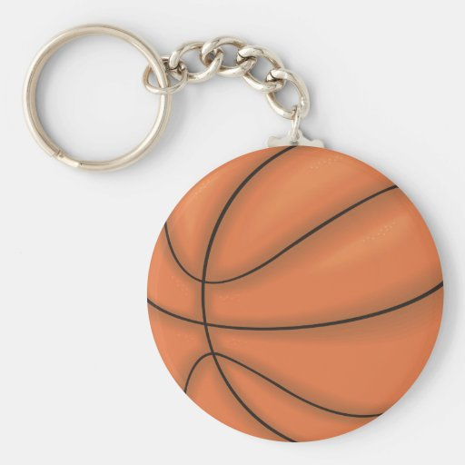 Ball sports: Basketball Keychain
