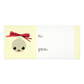 ball tree kawaii gift tag rack card