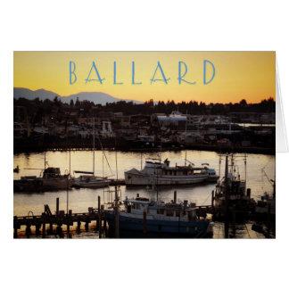 Ballard Boats Card