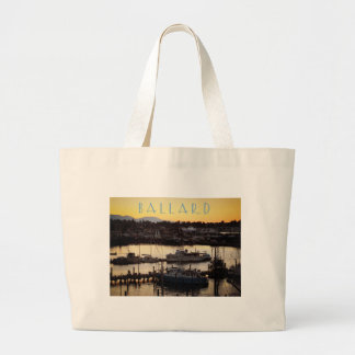 Ballard Boats Large Tote Bag