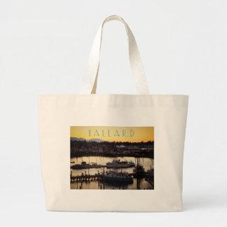 Ballard Boats Large Tote Bag