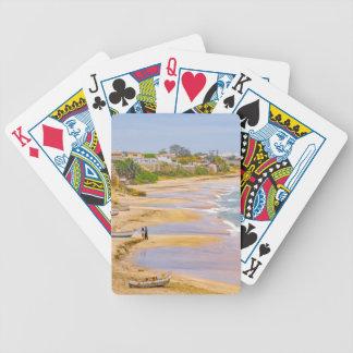 Ballenita Beach Santa Elena Ecuador Bicycle Playing Cards