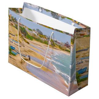 Ballenita Beach Santa Elena Ecuador Large Gift Bag