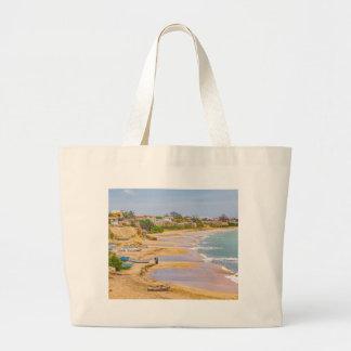 Ballenita Beach Santa Elena Ecuador Large Tote Bag