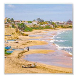 Ballenita Beach Santa Elena Ecuador Photo Print