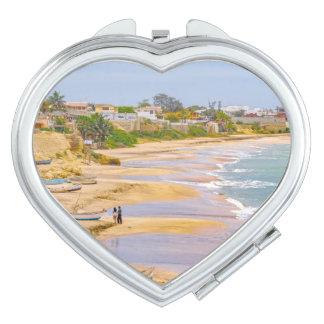 Ballenita Beach Santa Elena Ecuador Vanity Mirrors