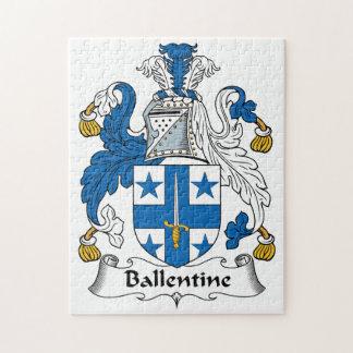Ballentine Family Crest Puzzles