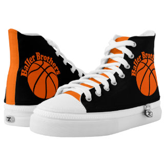 Baller Brothers basketball zipz high top sneakers