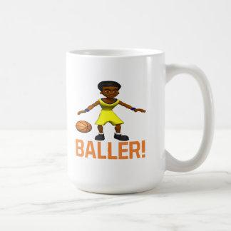 Baller Classic White Coffee Mug
