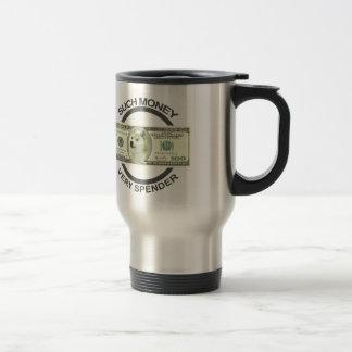 Baller Doge 15 Oz Stainless Steel Travel Mug