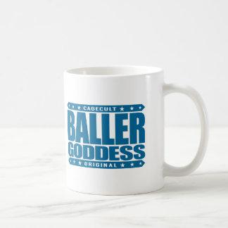 BALLER GODDESS - Worship My Gangster Femininity Classic White Coffee Mug