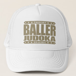 7ae6dfe0bc912 BALLER JUDOKA - I Love Grappling   Smashing Bodies Trucker Hat