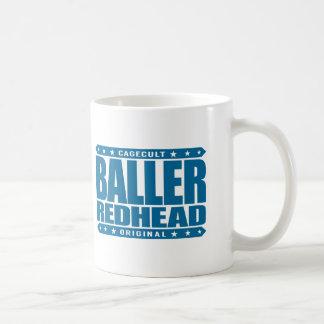 BALLER REDHEAD - I'm Fiery Gangster Phoenix Rising Classic White Coffee Mug
