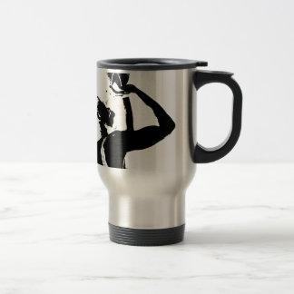 baller shot stainless steel travel mug
