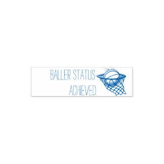 Baller Status Achieved Teacher Stamp