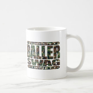 BALLER SWAG - Stay Gangster, Spite All The Haters Classic White Coffee Mug