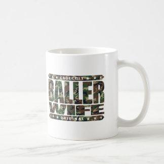 BALLER WIFE - Truly Faithful to My Yoga Teacher ;) Basic White Mug